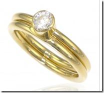 Eleanor Diamond Ring Set