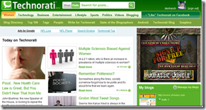 technorati homepage thumb
