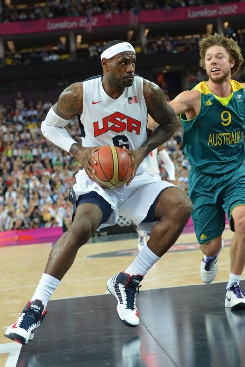 LeBron James8217 Historic TripleDouble helps US beat Australia ...