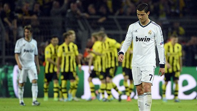 Borussia Dortmund vs Real Madrid (4-1)