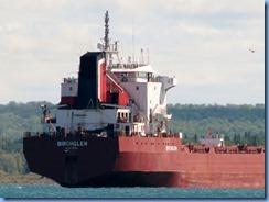 5085 Michigan - Sault Sainte Marie, MI -  St Marys River - Soo Locks Boat Tours - Canadian freighter Birchglen