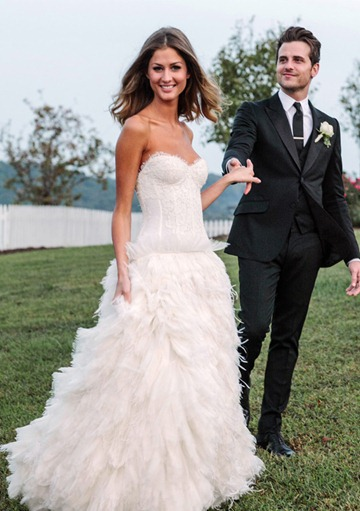 Jared Followill marries Martha Patterson