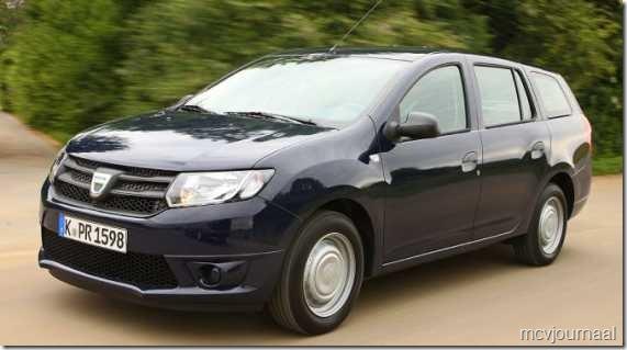 2013 Dacia Logan MCV 01