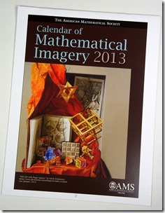 calendar of mathematical imagery