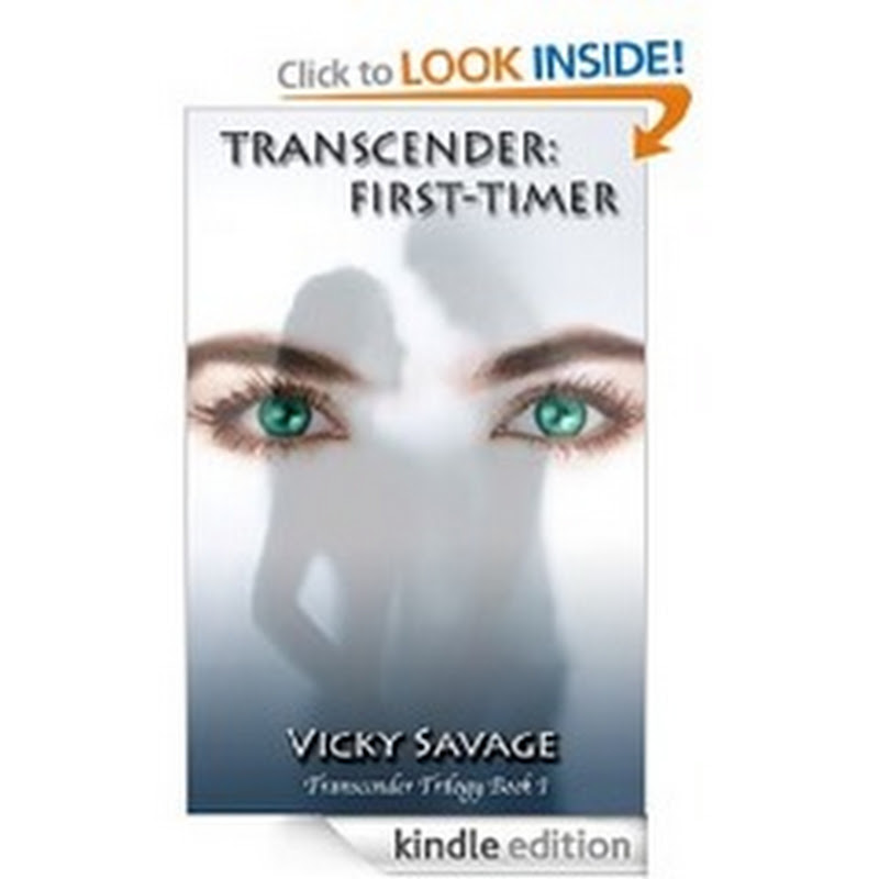 Orangeberry Free Alert - Transcender: First Time by Vicky Savage