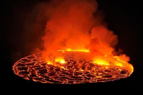 lagos de lava