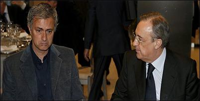 Mourinho deja al Real Madrids al término de temporada