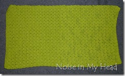 Green Spa Towel finish 5-16-12