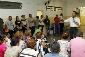 Chico Brito anuncia creche, campo e academia pública no Itatuba