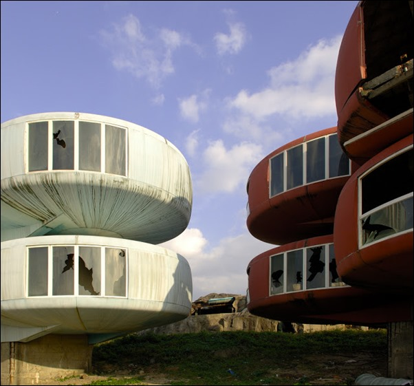 Sanzhi UFO houses 04