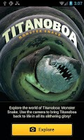 Screenshot of Titanoboa Lives