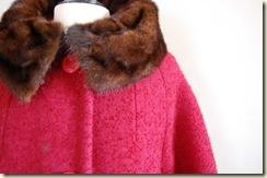 vintage 1950s LOGANBERRY Boucle Coat2