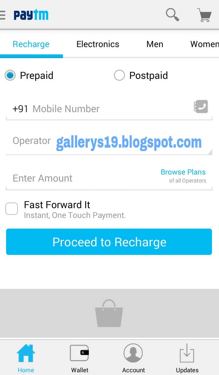 Paytm prepaid recharge coupons