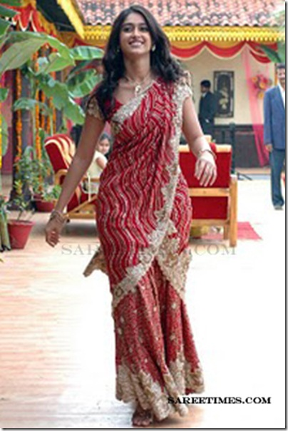 Ileana_Bridal_Saree