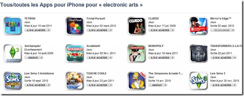 De Monopoly aux Sims jeux electronic arts à 79centimes