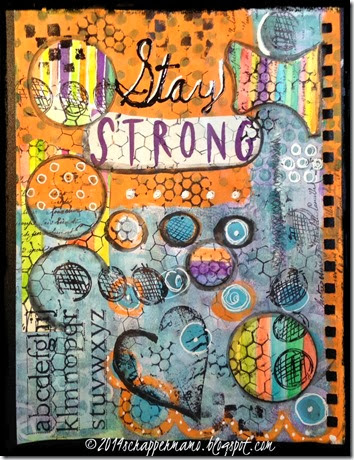 stay strong art journal