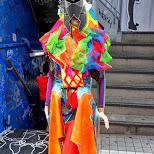 colorful clothing in Harajuku in Harajuku, Tokyo, Japan