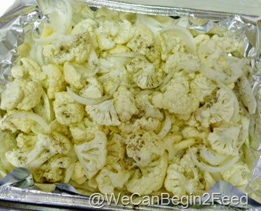 Roasted Cauliflower and Onions 2
