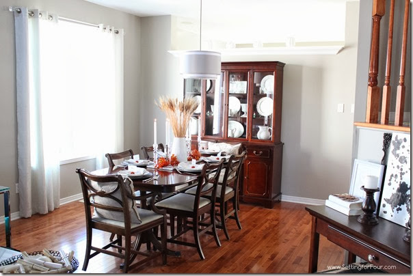 Dining Room Setting for Four