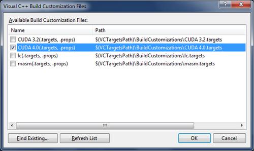 BuildCustomization