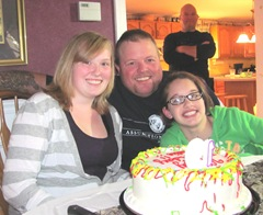 19th birthday party Katie tommy Lily cake