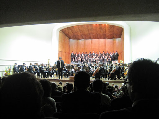 A night at the symphony in La Paz.