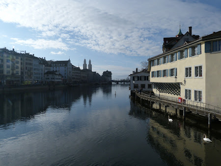 Obiective turistice Zürich: Centrul orasului