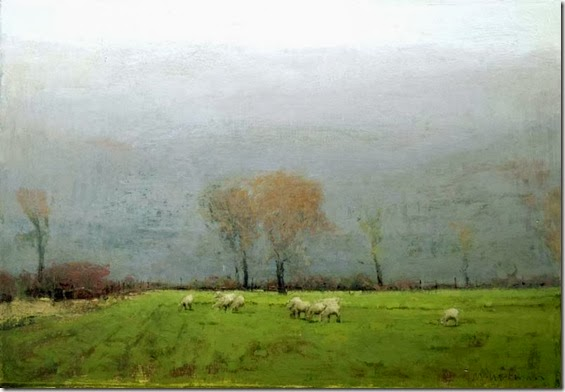 October-_Sheep_and_Rain