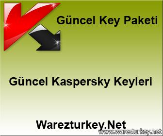 29 Ekim 2014 Güncel Kaspersky Key Paketi
