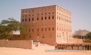 A typical mansion in Azzan, Shabwa.    
