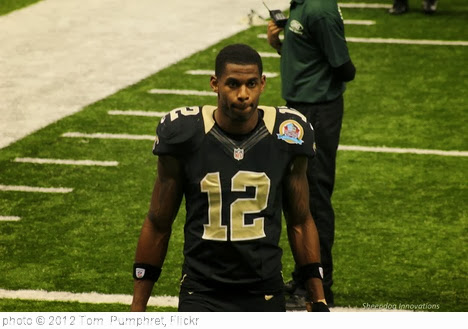 'Marques Colston New Orleans Saints' photo (c) 2012, Tom  Pumphret - license: http://creativecommons.org/licenses/by-nd/2.0/