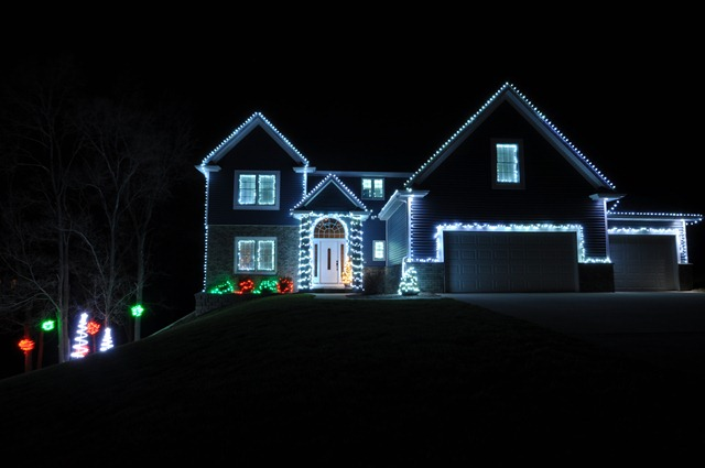 Outdoor Christmas Lights — Decor and the Dog
