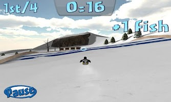 Screenshot of Penguin Snowcap Challenge Lite