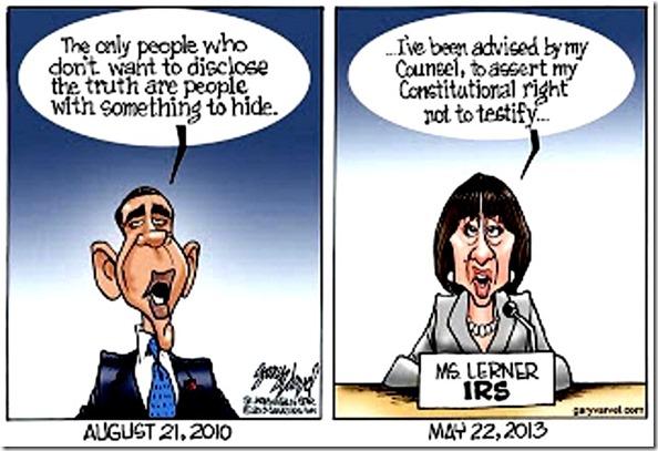BHO-Lerner 2010 & 2013 hypocrisy contrast