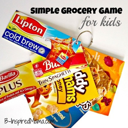 Kids Grocery Cards 2
