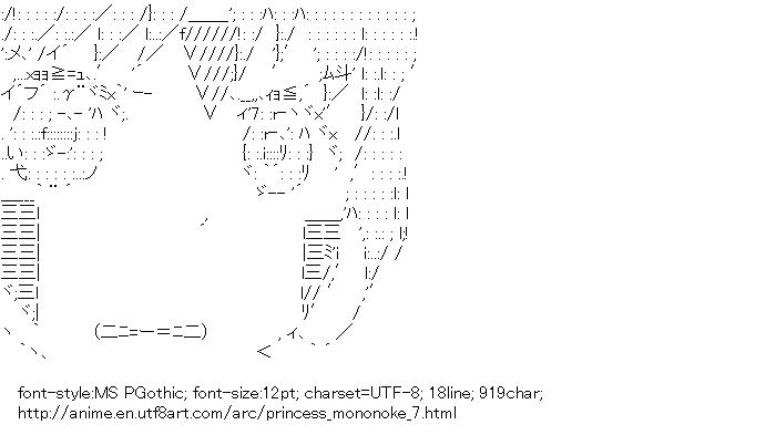 Princess Mononoke,San