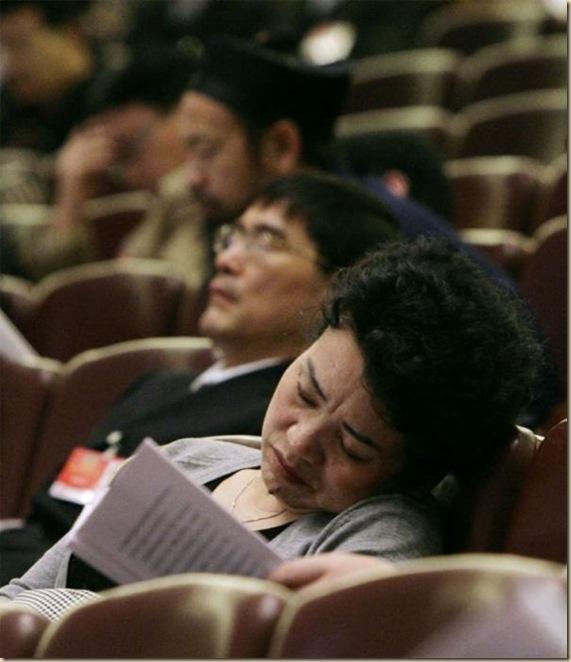 Les politiques sommeillent (1)