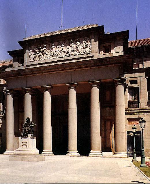 Arquitectura neoclasica espa ola for Lamucca calle del prado 16 madrid