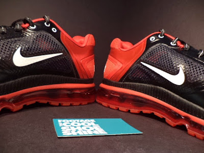 lbj pe nike air max trainer 1 3 miami heat 4 3 pack Four Pairs of Nike Air Trainer 1.3 Max Breathe LeBron James PE