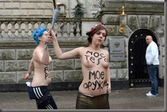 GERMANY-RUSSIA-FEMEN-DEMO