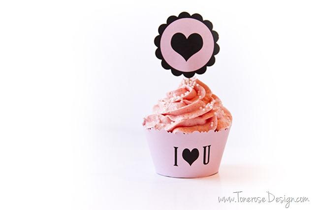 IMG_3964 lag cupcakes til valentines dag
