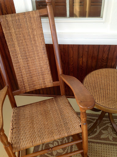 ... Herring Bone Weave Chair Seat (Wrapped 2 Over 1 Pattern) With A Pressed  Cane ...