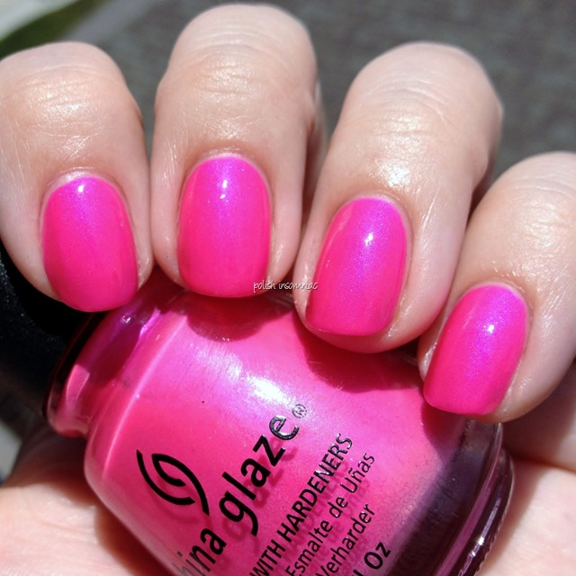 China Glaze Hang-Ten Toes (Summer Neons)
