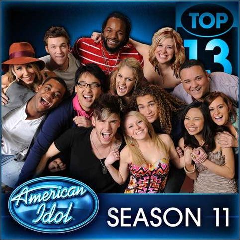 American Idol Top 13 Season 11