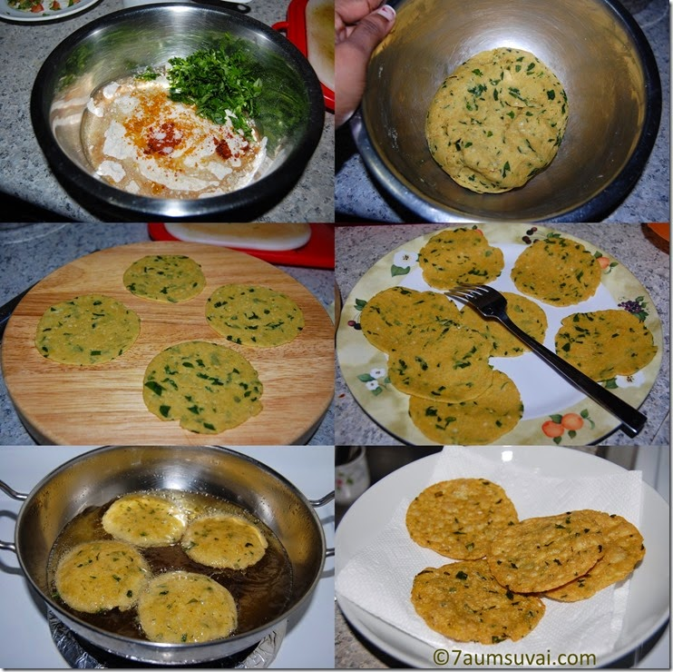 Methi puri process