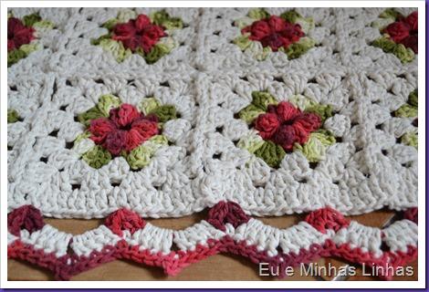 Tapete Croche Flor 1c