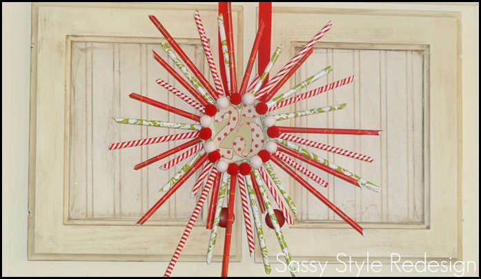 pixie stick wreath-full with cupboard