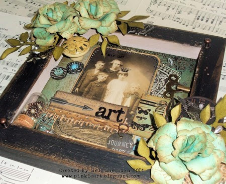 Vintage Journey - Shadow Box 02