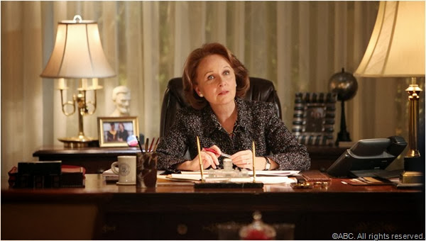 Kate Burton in SCANDAL.