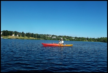 Kayaking Seal Cove Pond 176